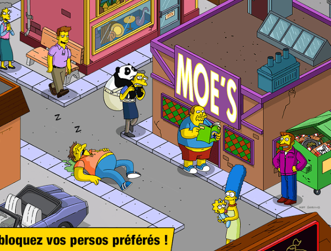 Joue Simpsons Tapped Out on pc 3