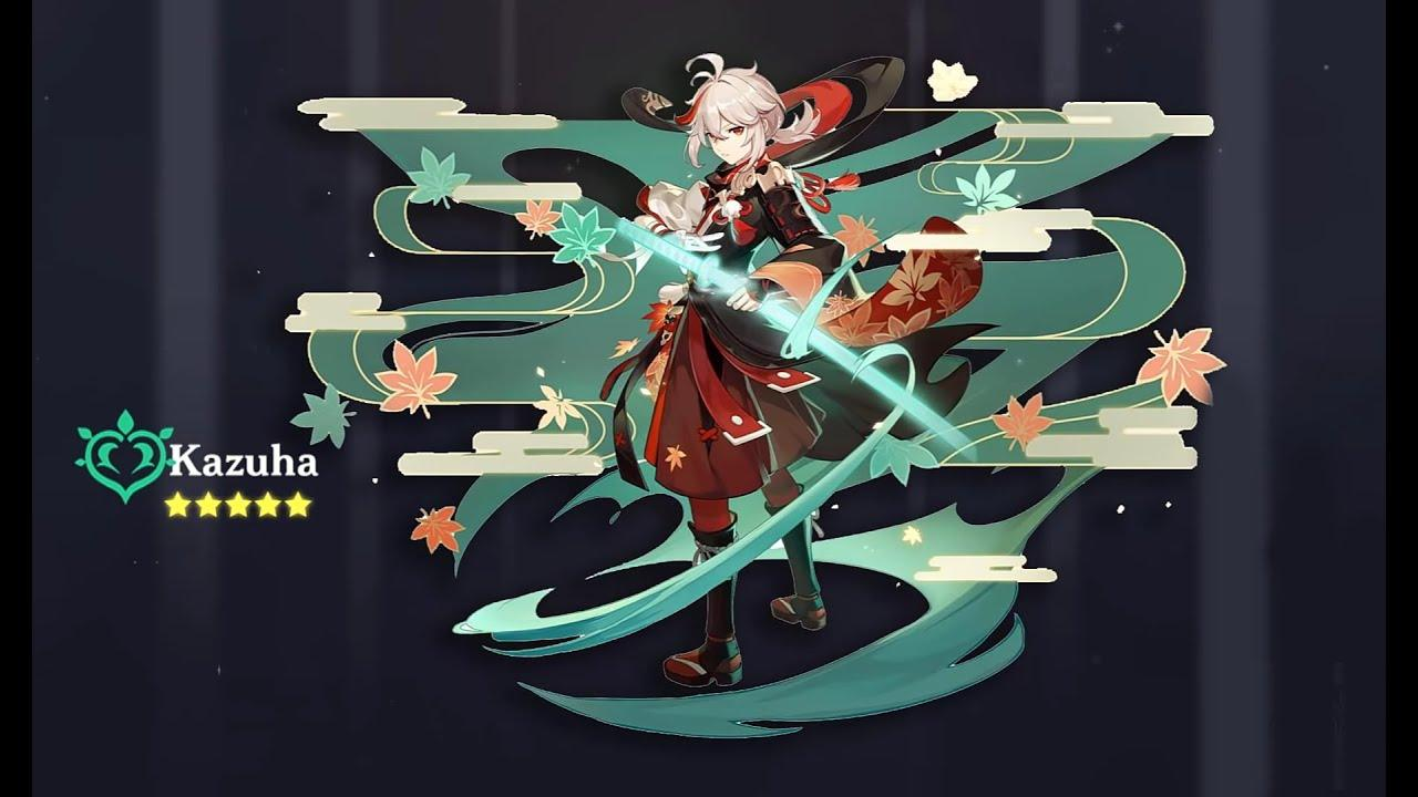 Genshin Impact New Character: Kaedehara Kazuha