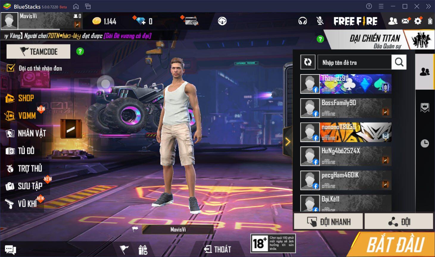 Garena Free Fire Max: Tìm hiểu chế độ chơi Đại Chiến Titan