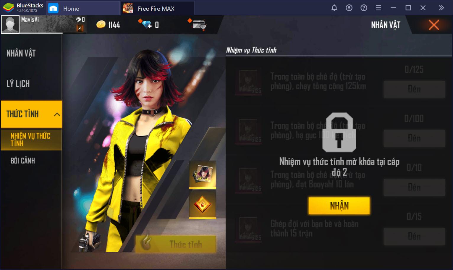 Garena Free Fire Max: Tìm hiểu hệ thống nhân vật