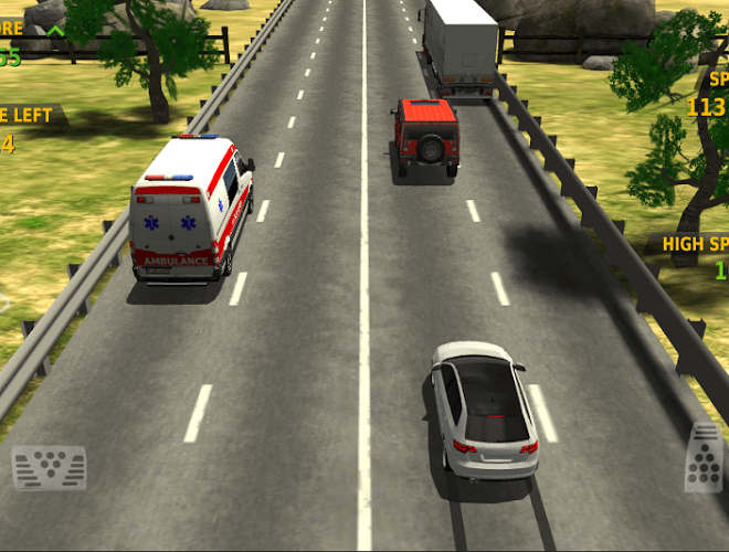 Speel Traffic Racer on PC 9