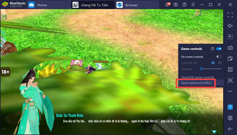Giang Hồ Tu Tiên: Thành cao thủ PK với chức năng Keymapping của BlueStacks