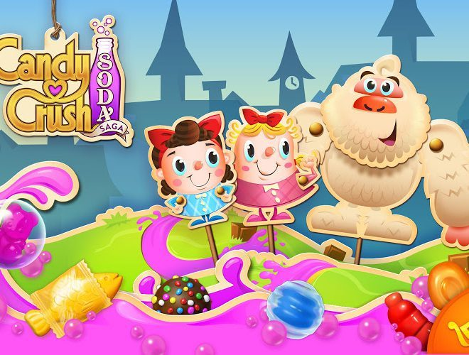 Играй Candy Crush Soda Saga on pc 13