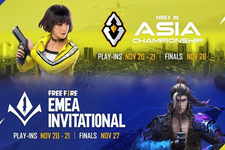 Free Fire Asia Championship 2021 được tổ chức trực tuyến