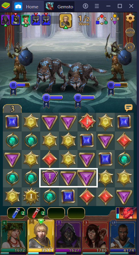 How Combat Works in Gemstone Legends on PC