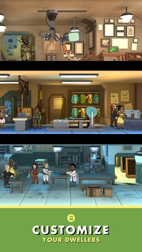 เล่น Fallout Shelter on pc 4
