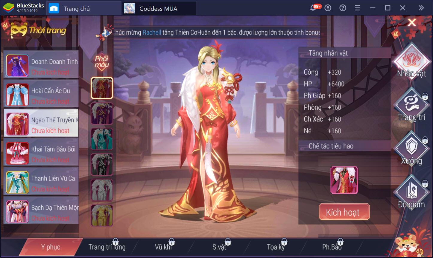 Những lưu ý khi bạn muốn cày cấp nhanh trong Goddess MUA