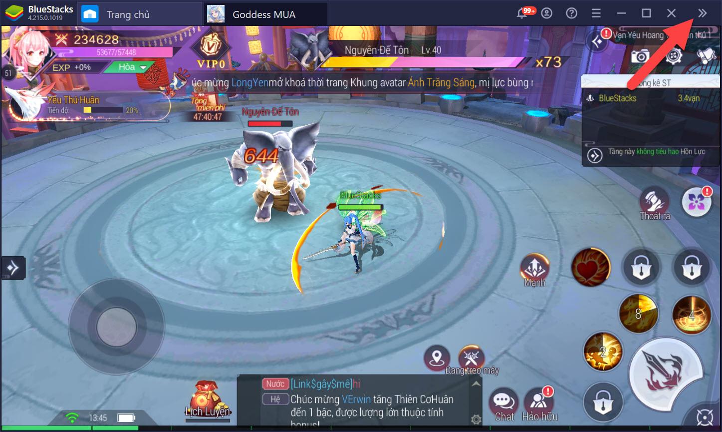 Goddess MUA: Tinh chỉnh Game Controls gia tăng trải nghiệm trên PC