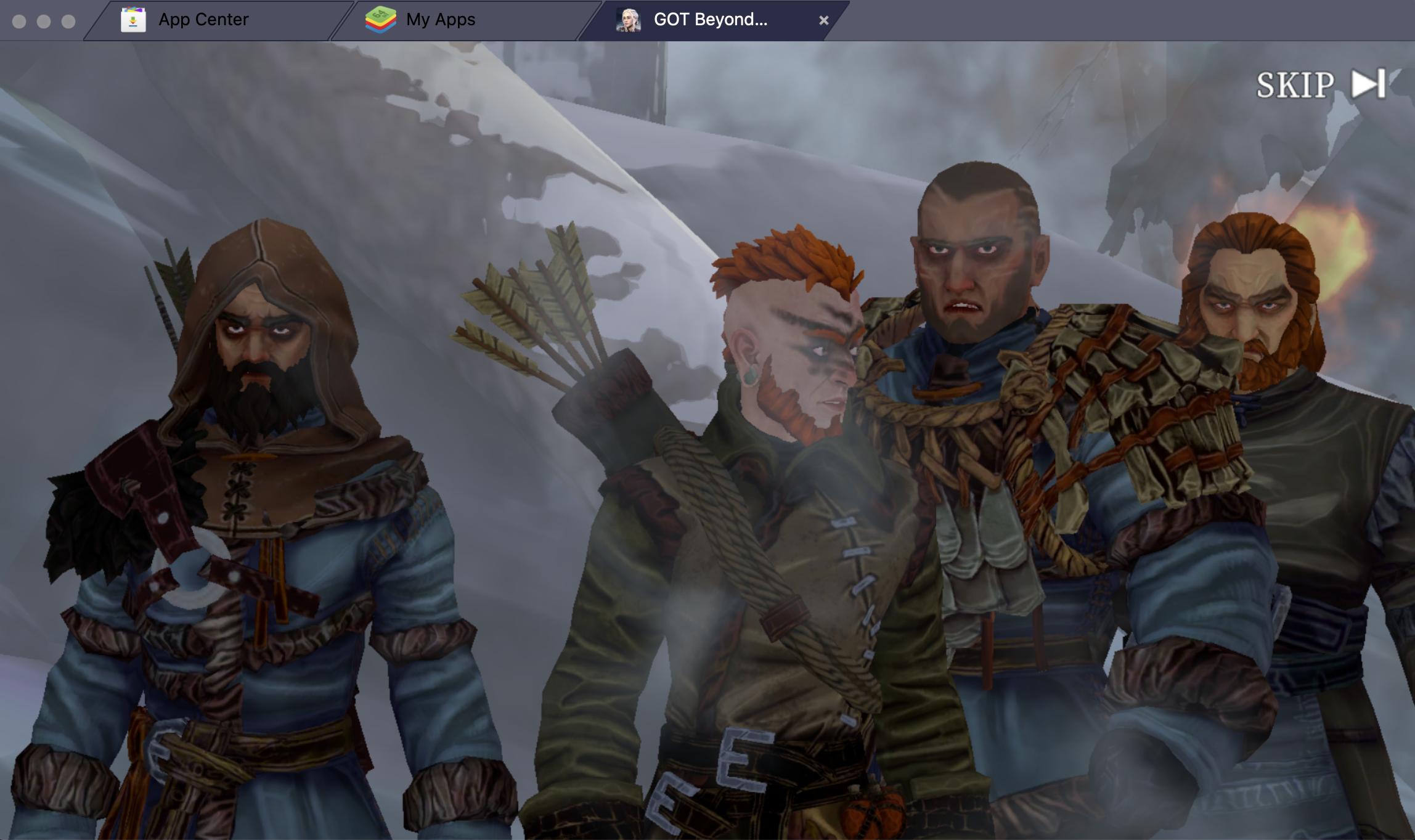 BlueStacksを使ってPC上で『ゲーム・オブ・スローンズ Beyond the Wall』を遊ぼう