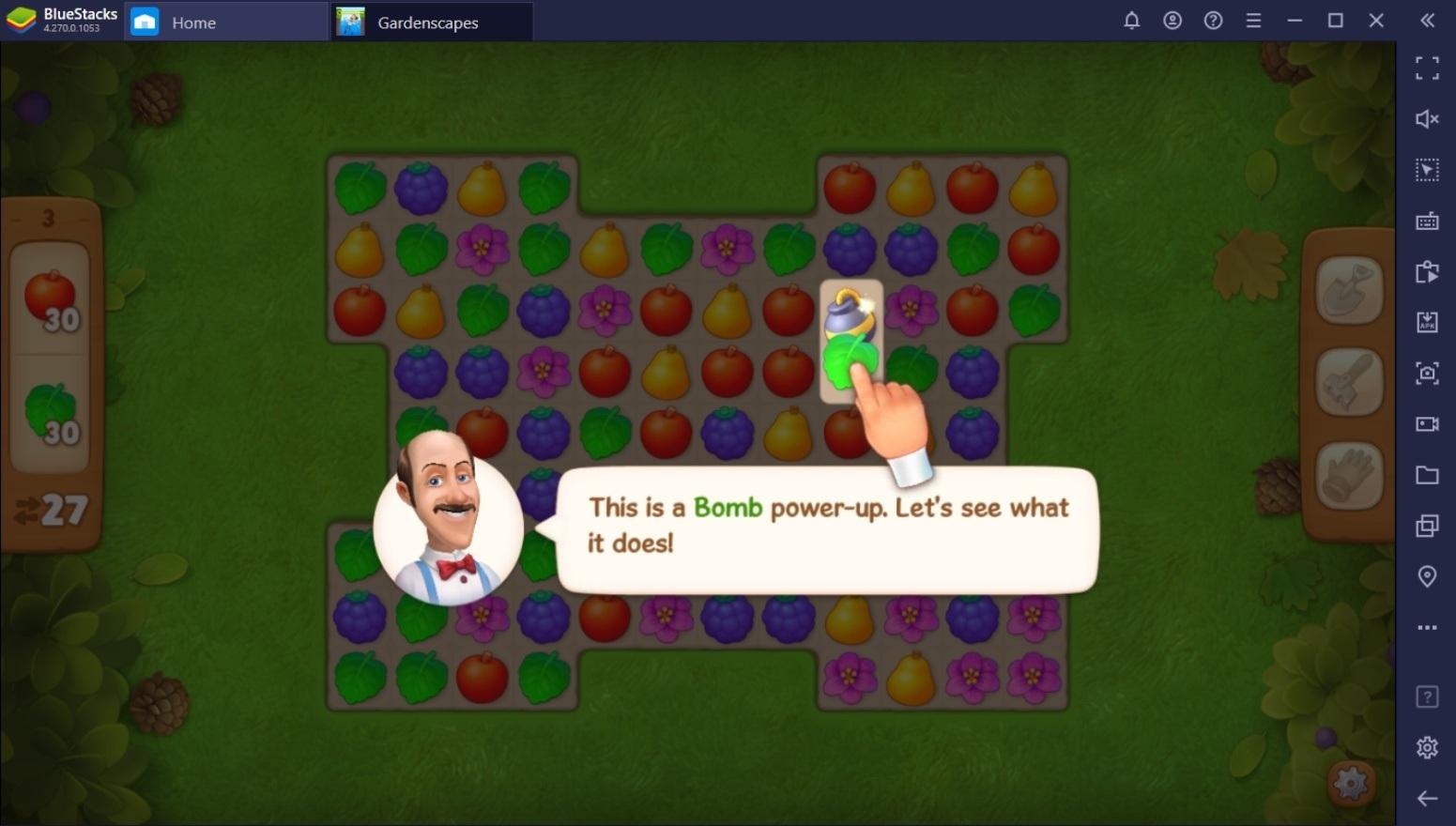 أفضل طريقة لاستخدام الأدوات ووحدات الطاقة في لعبة Gardenscapes