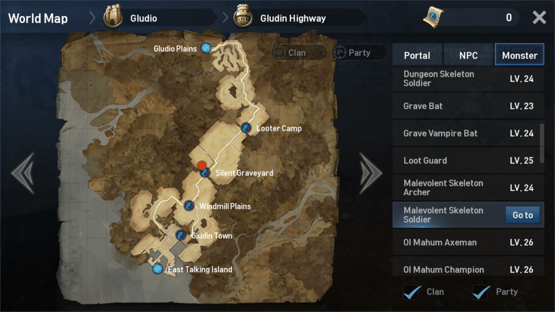 Lineage 2 Revolution Grinding Route