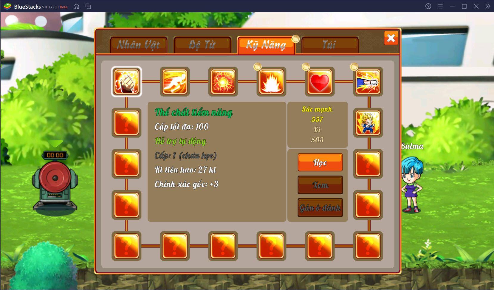 Giới thiệu hệ thống nhân vật trong Gọi Rồng Online