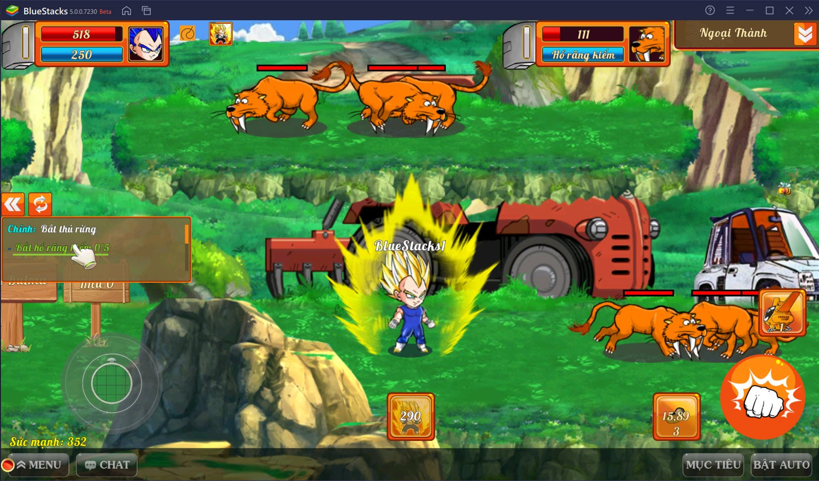 Trải nghiệm Gọi Rồng Online, tựa game mobile Dragon Ball mới