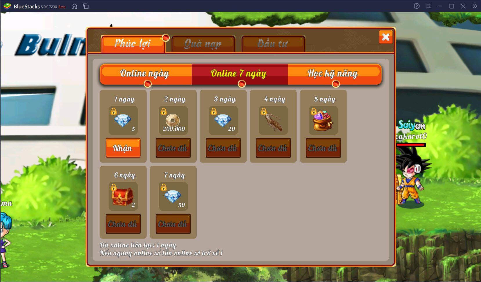 Mẹo chơi Gọi Rồng Online tốt hơn trên PC cùng BlueStacks
