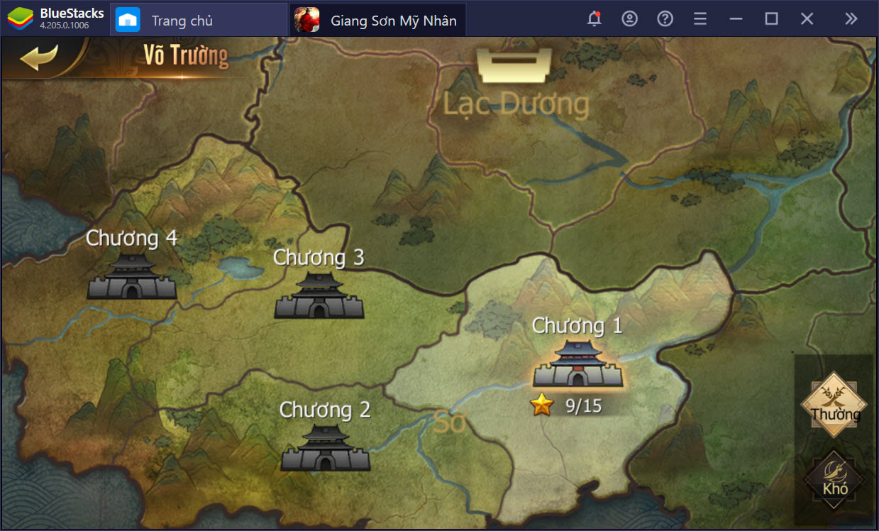 Hướng dẫn cơ bản dành cho tân thủ Giang Sơn Mỹ Nhân
