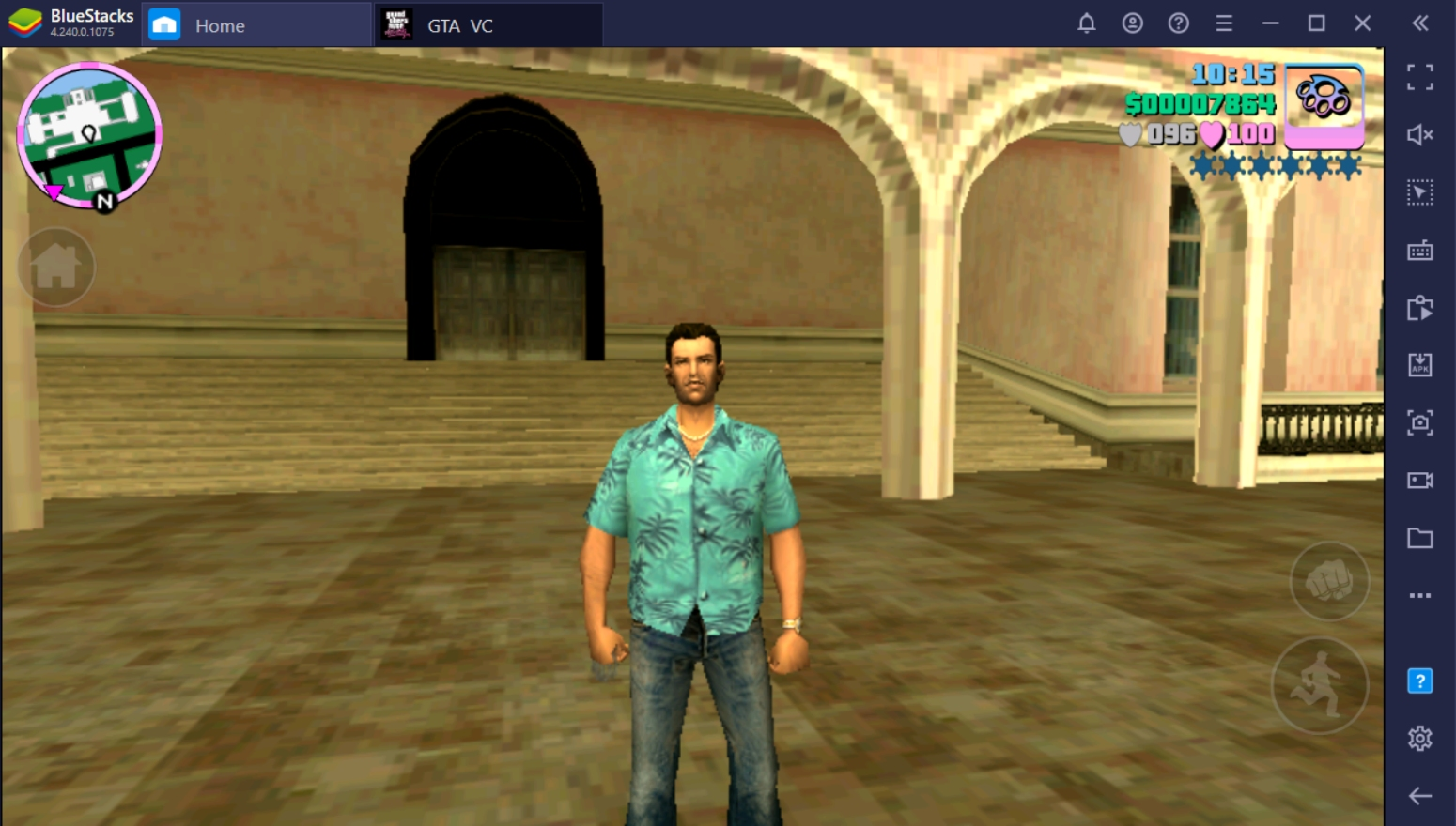How To Play GTA Vice City On PC With BlueStacks