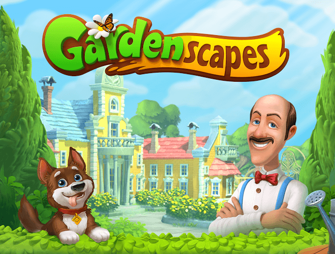เล่น Gardenscapes on PC 21