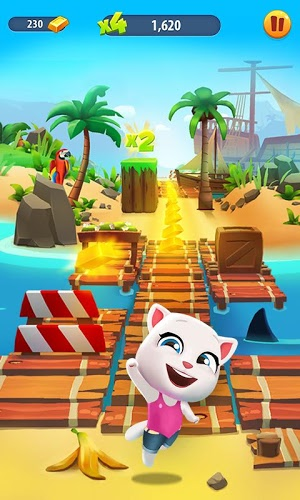 Play Talking Tom Gold Run on PC 3