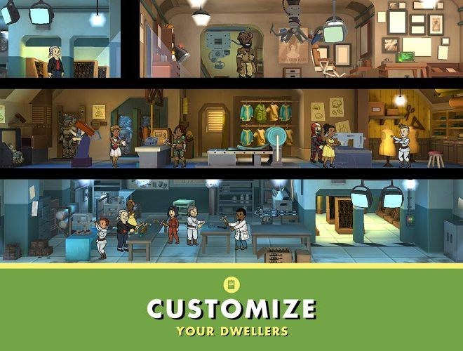 เล่น Fallout Shelter on PC 12