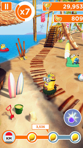 Играй Гадкий Я: Minion Rush on pc 13