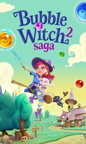 เล่น Bubble Witch Saga 2 on PC 7