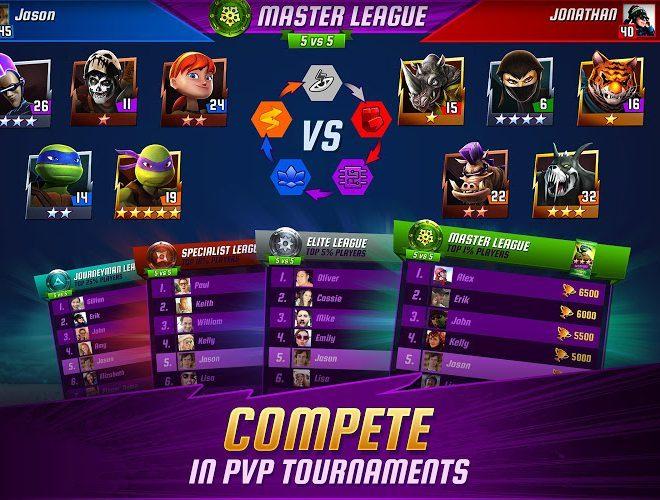 Play Ninja Turtles: Legends on PC 13