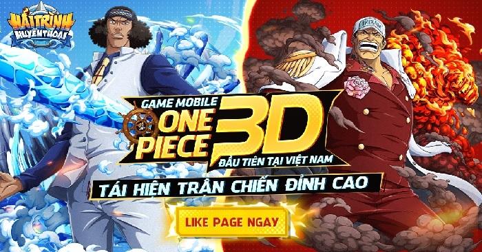 Hải Trình Huyền Thoại: Game mobile One Piece 3D đầu tiên sắp ra mắt tại Việt Nam