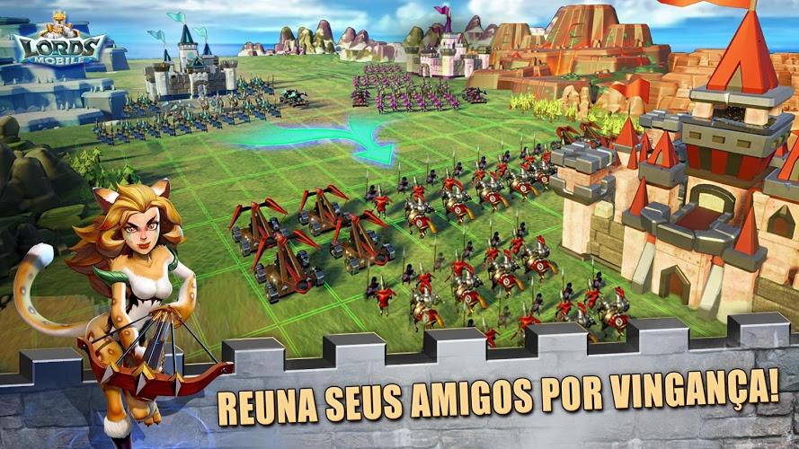 Jogue Lords Mobile para PC 11