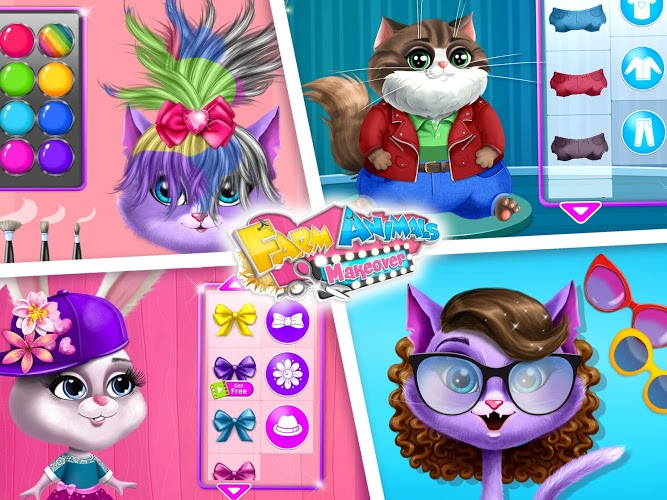 Play Farm Animals Makeover – Cute Virtual Pet Salon on PC 24