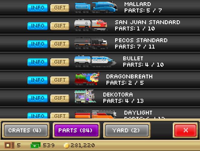 Играй Pocket Trains На ПК 11