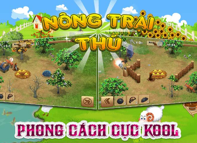 Chơi Nong Trai Thu – Dau Truong Thu on PC 5