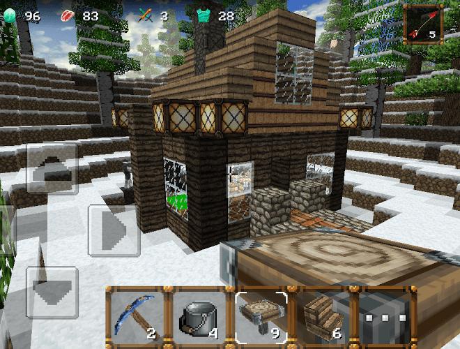 Play WinterCraft 3: Mine Build on PC 5