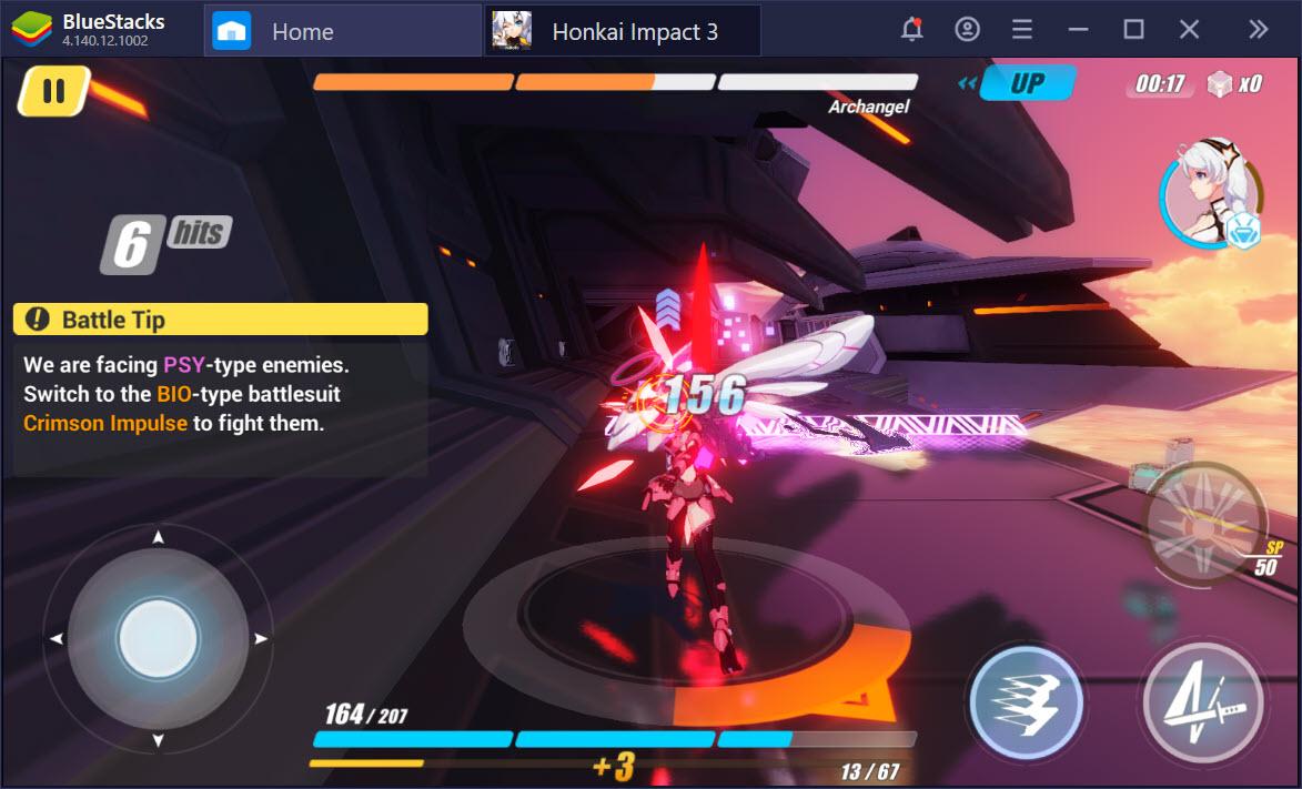 Hướng dẫn cách chơi cơ bản, lối đánh trong Honkai Impact 3