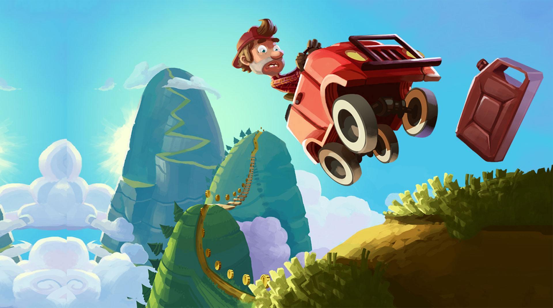 hill climb racing مهكرة