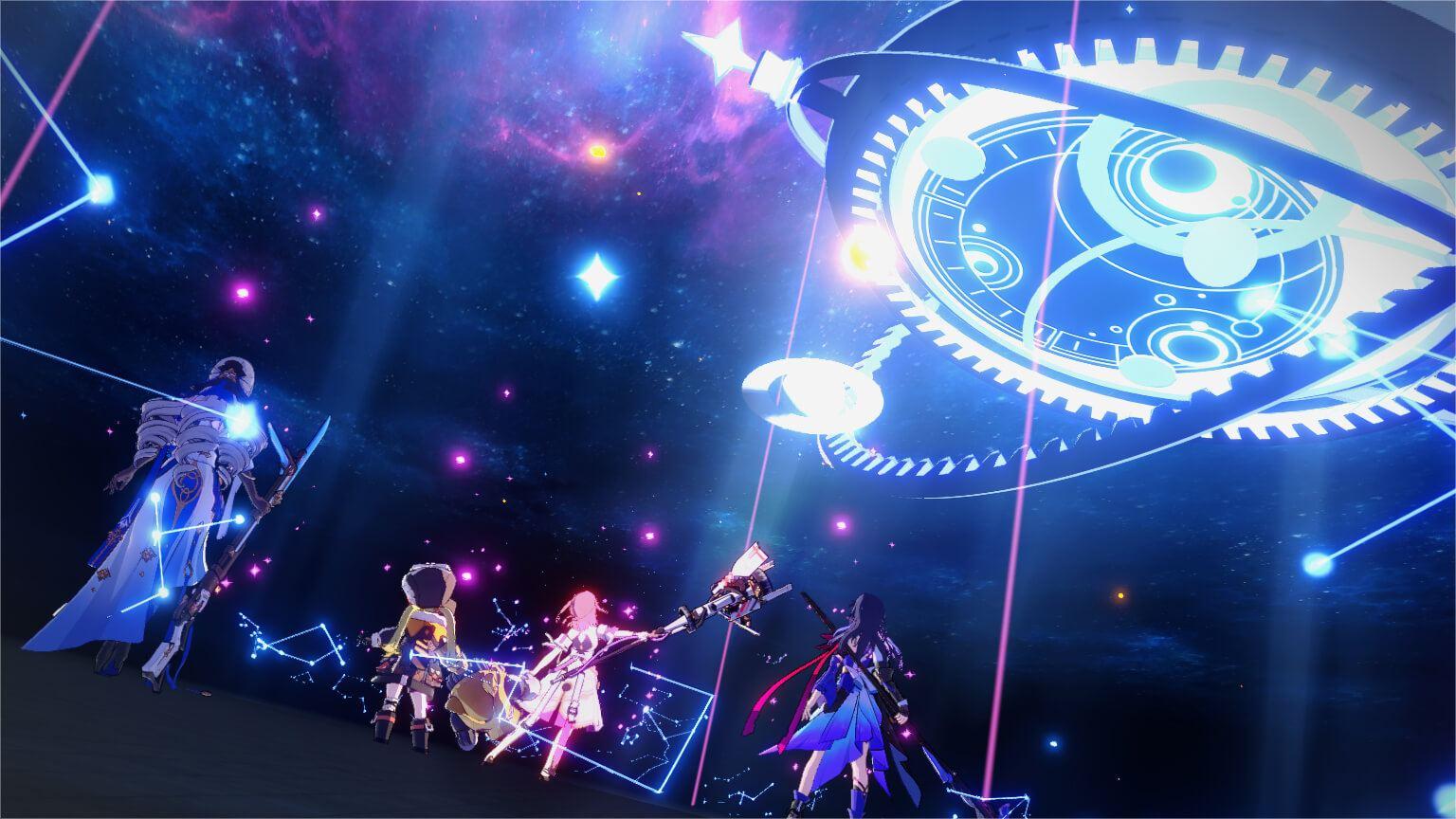 Honkai: Star Rail, tựa game mới toanh đến từ nhà sản xuất Genshin Impact