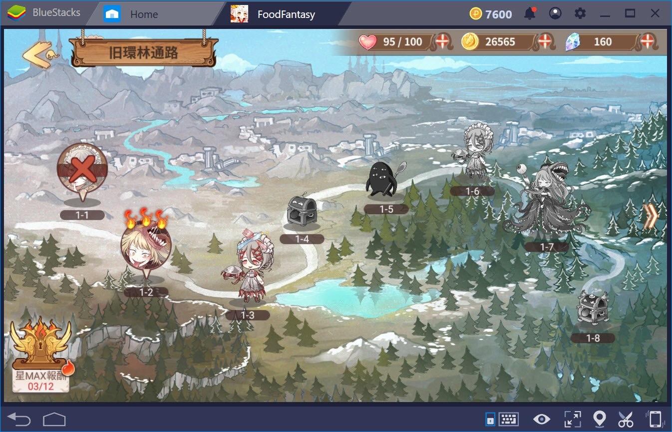 BlueStacksを使ってPCでFood Fantasyフードファンタジーを遊ぼう