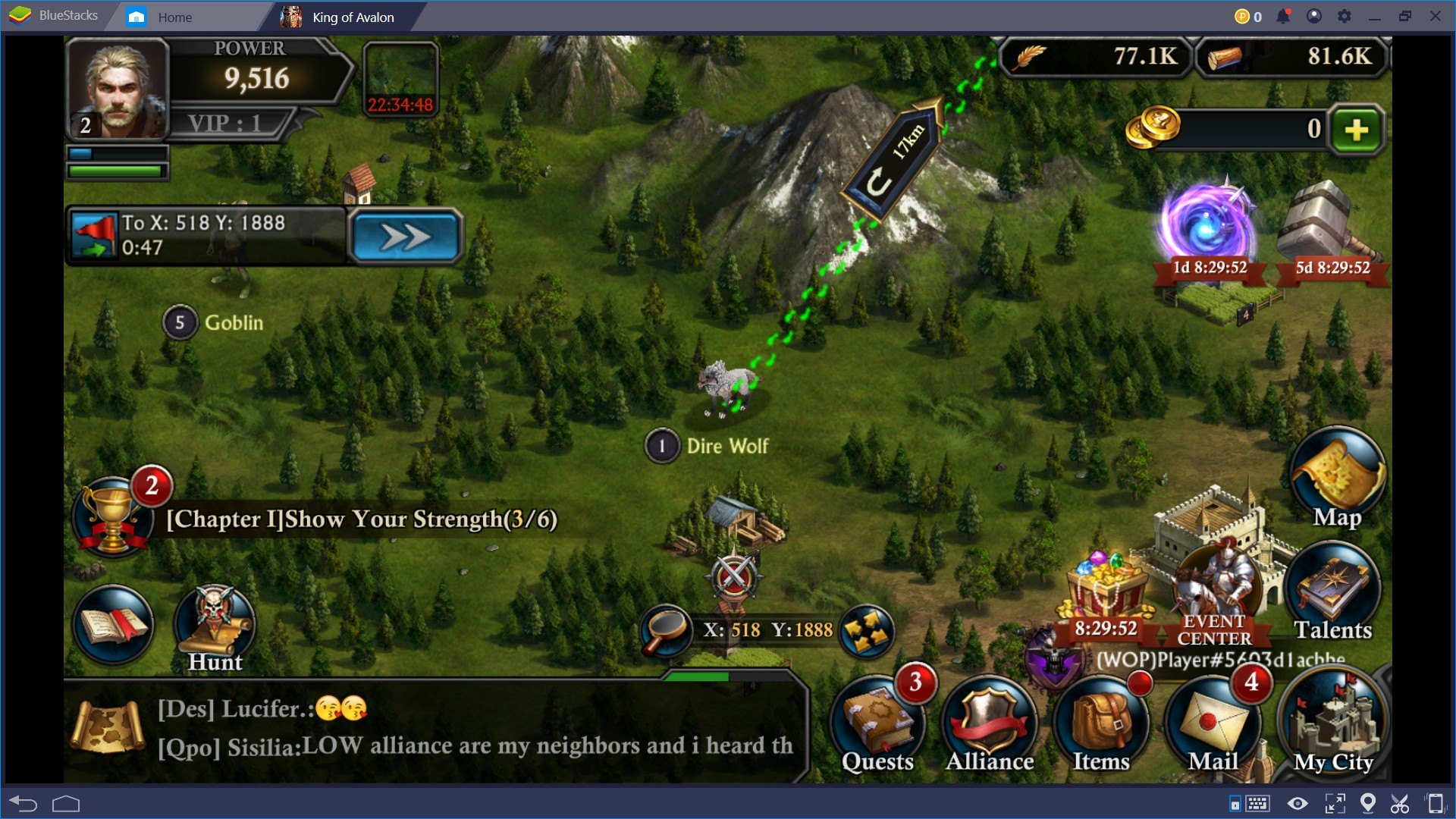 BlueStacksを使ってPCでキング・オブ・アバロン: ドラゴン戦争を遊ぼう