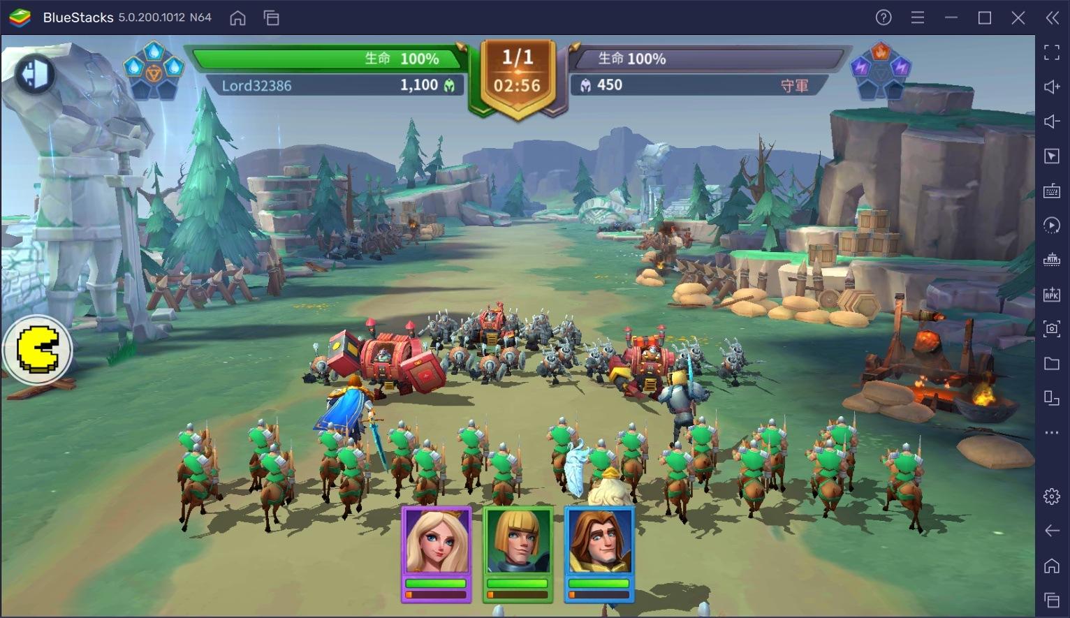 如何使用BlueStacks在電腦上玩手遊《無盡城戰》