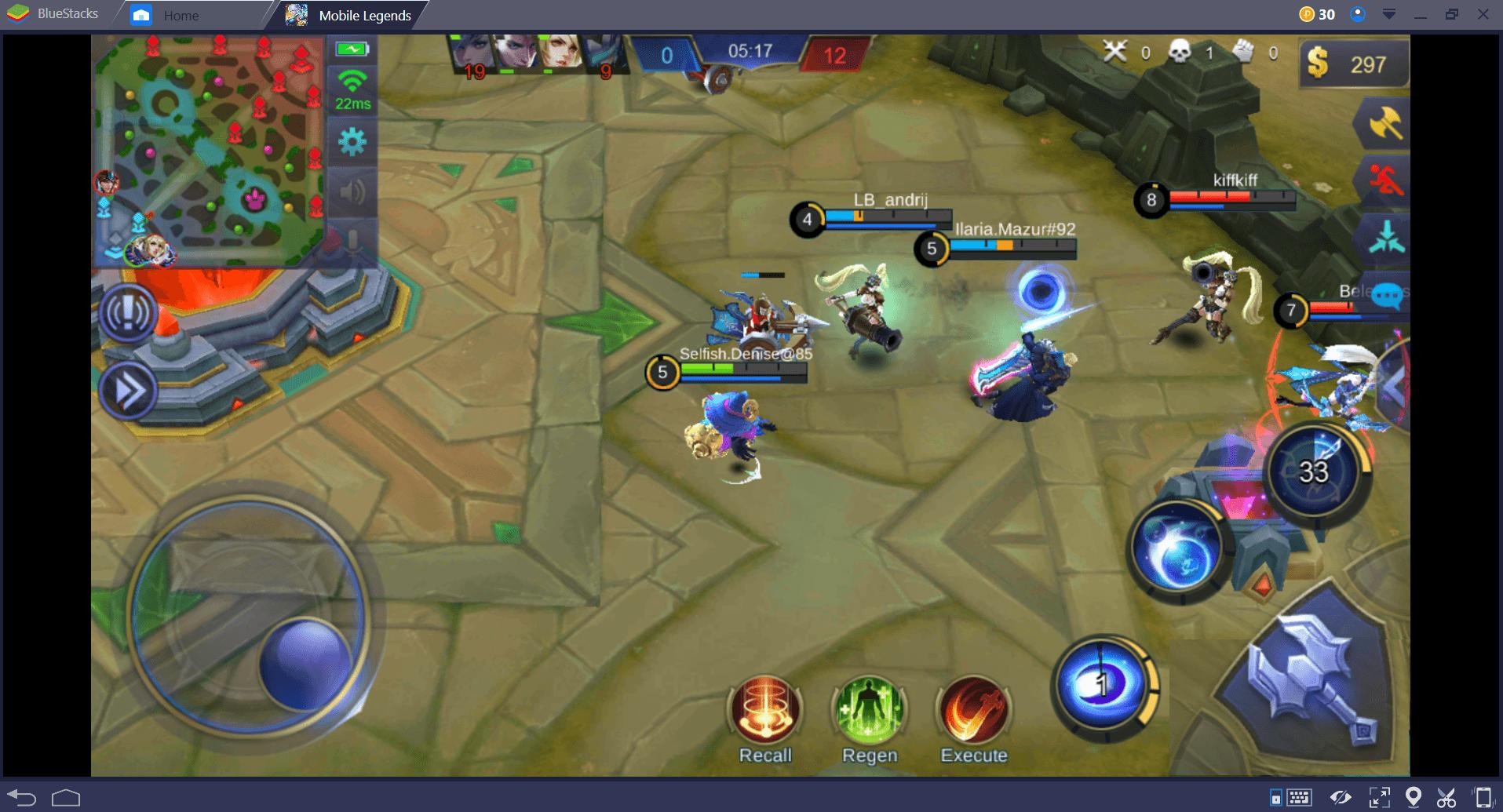 Mobile Legends Win Mid Lane 3
