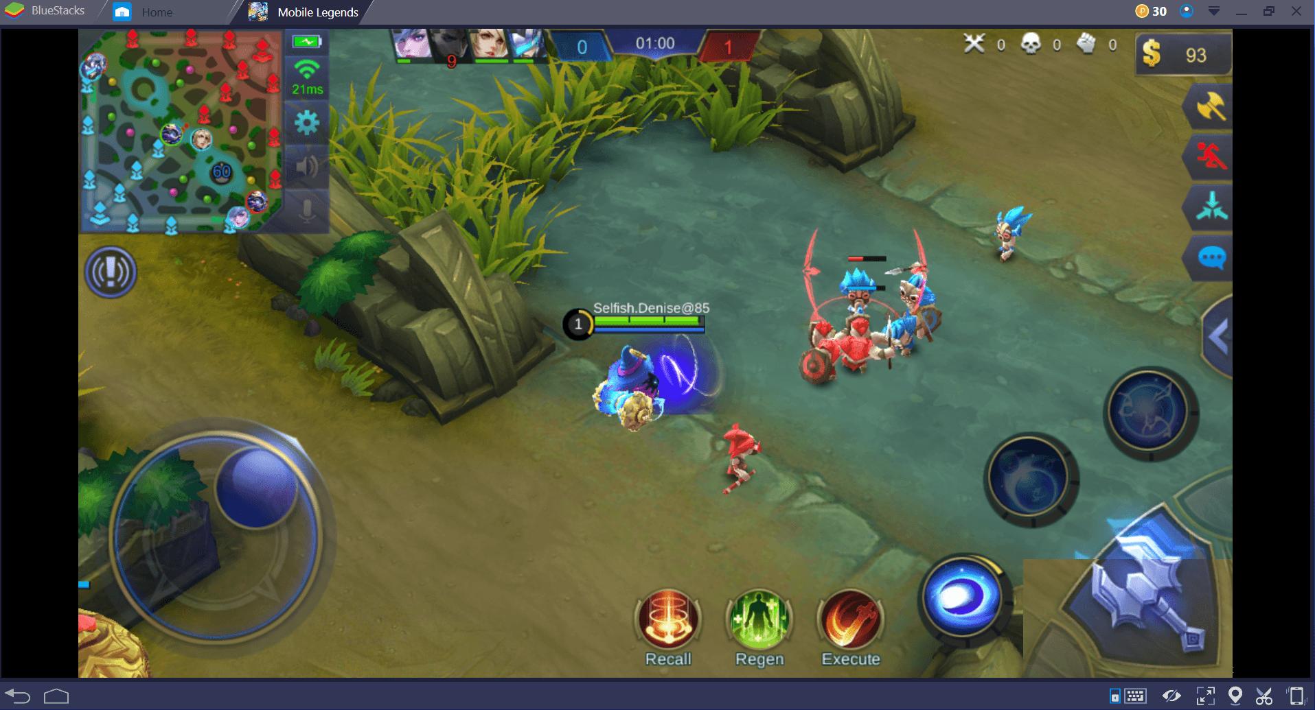 كيفية إتقان مرحلة الممر الأوسط في لعبة Mobile Legends: Bang Bang