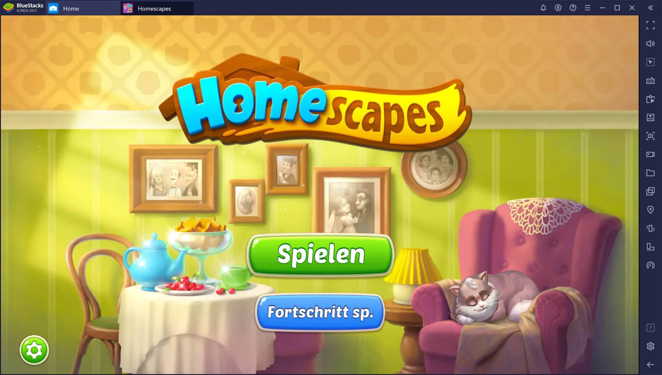 Homescapes – So installierst und spielst du das beliebte 3-Gewinnt-Spiel auf dem PC