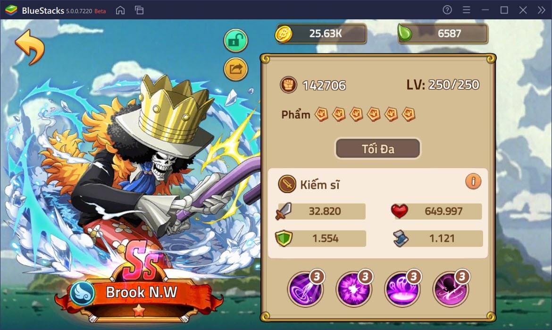 Huyền Thoại Hải Tặc: Tìm hiểu hệ thống sức mạnh và các lớp nhân vật
