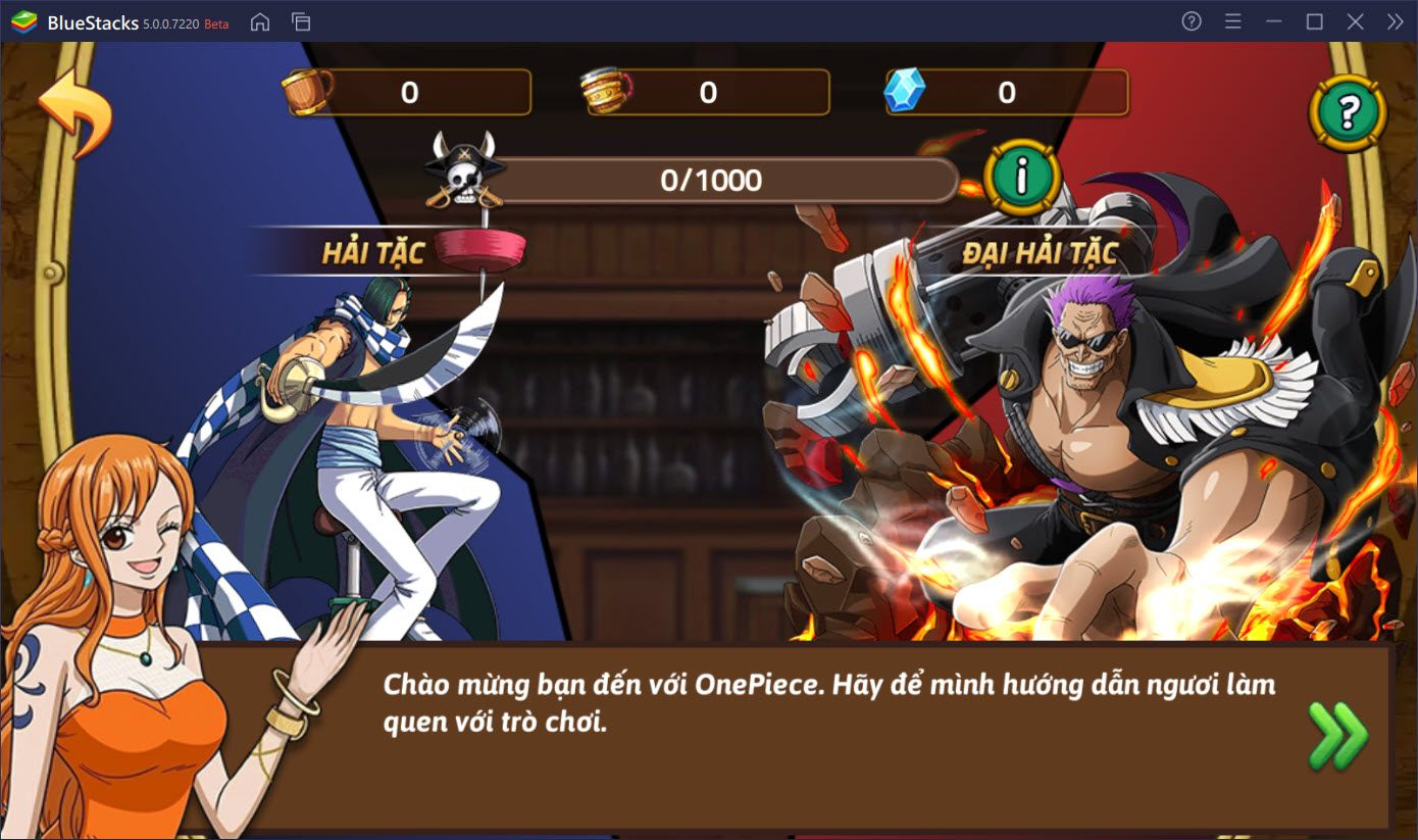 Truy tìm kho báu One Piece và trở thành Huyền Thoại Hải Tặc cùng BlueStacks