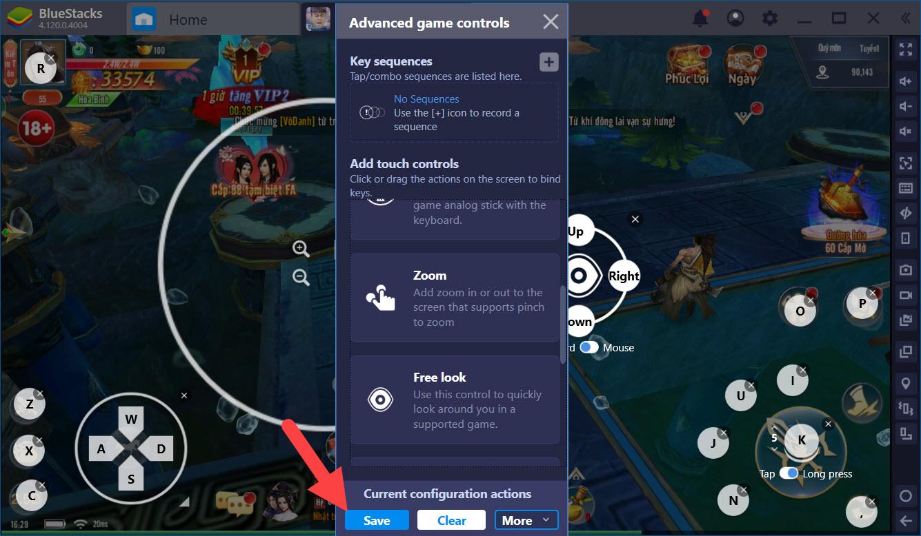 Tuyệt đỉnh PK trong Hoa Thiên Kiếp với Game Controls