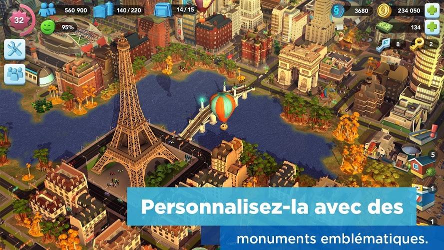 Jouez à  SimCity BuildIt sur PC 4