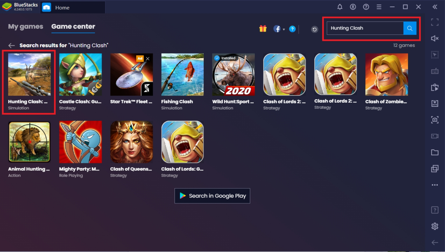 How to Play Hunting Clash On PC With BlueStacks