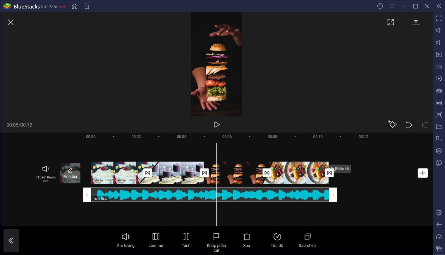 Cách dùng CapCut tạo video chuẩn TikTok cực nhanh bằng BlueStacks