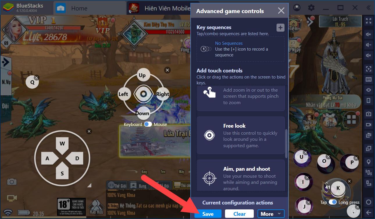 Cách này sẽ giúp bạn trở thành cao thủ PvP trong Hiên Viên Mobile