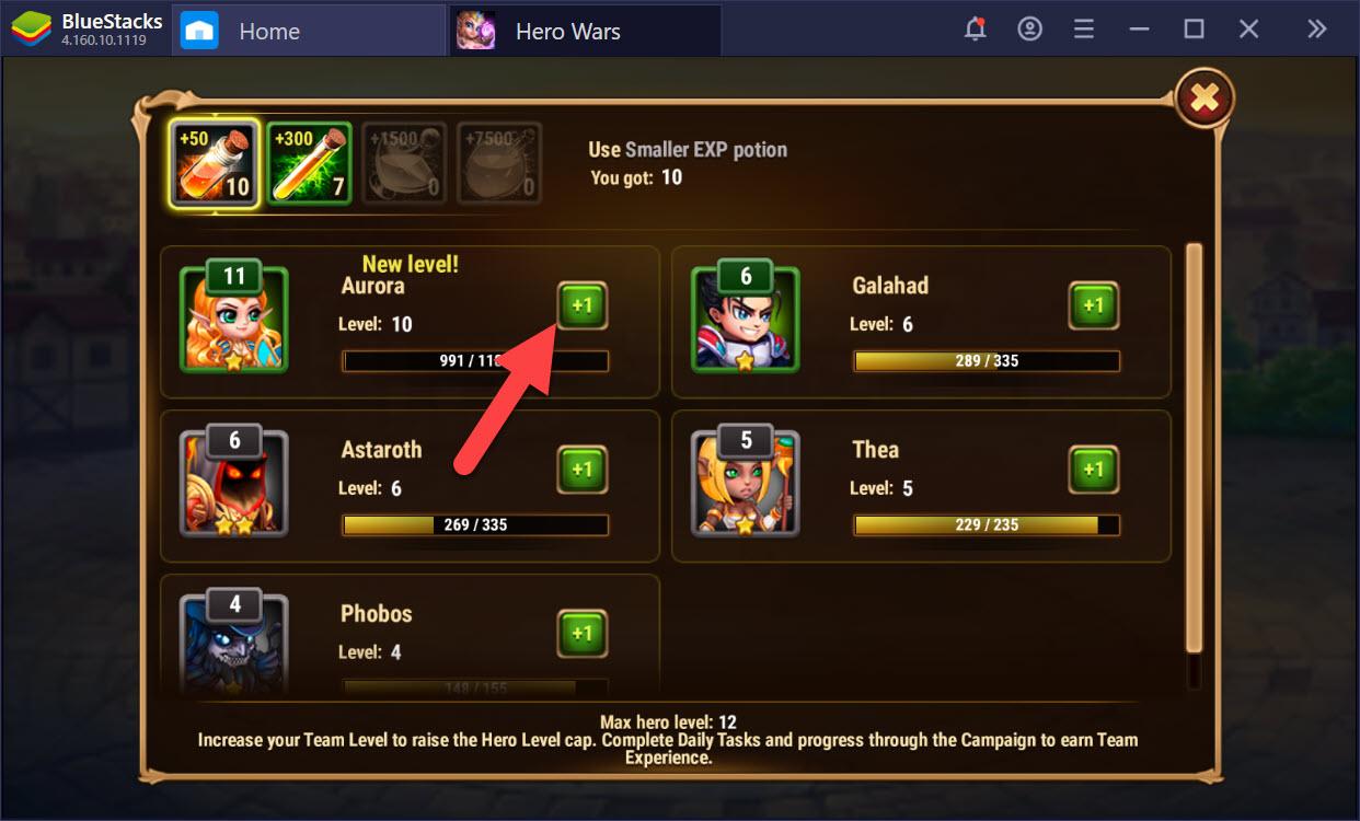 Hero Wars: Cách nâng cấp, tiến hóa và gia tăng sức mạnh cho các Hero