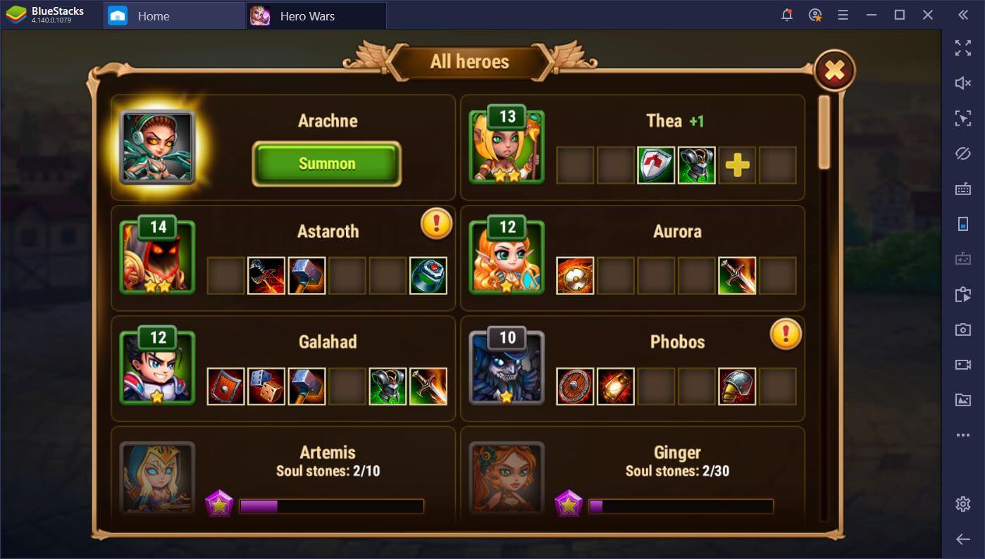 Die besten Tipps und Tricks für Hero Wars auf dem PC